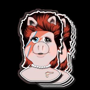 Piggy Stardust Magnet – Shelby Goelz